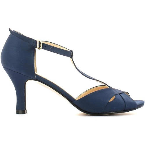 Shoes Women Sandals Grace Shoes 2354 High heeled sandals Women Blue Blue