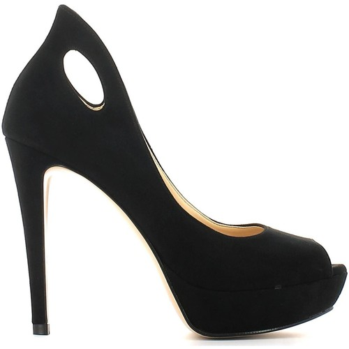 Shoes Women Heels Grace Shoes 4825 Decolletè Women Black Black