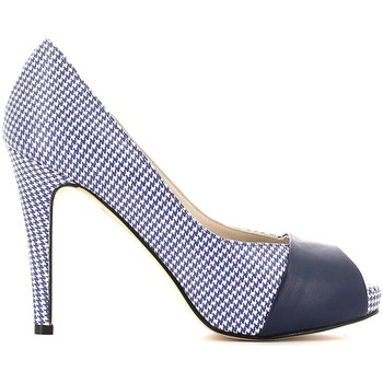 Shoes Women Heels Grace Shoes 833 Decolletè Women Blue Blue