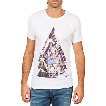 Clothing Men Short-sleeved t-shirts Eleven Paris BERLIN M MEN White