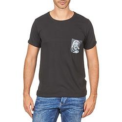 Clothing Men short-sleeved t-shirts Eleven Paris MARYLINPOCK MEN Black
