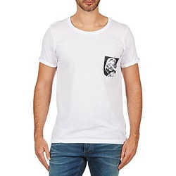 Clothing Men Short-sleeved t-shirts Eleven Paris MARYLINPOCK MEN White
