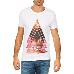 Clothing Men Short-sleeved t-shirts Eleven Paris MIAMI M MEN White
