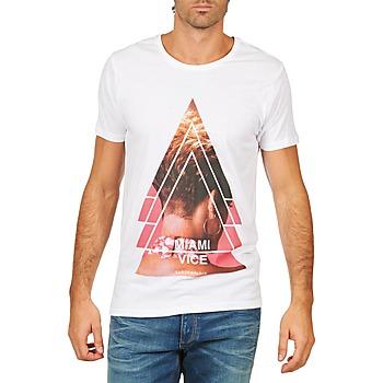 Clothing Men Short-sleeved t-shirts Eleven Paris MIAMI M MEN White