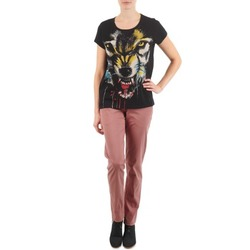 Clothing Women Chinos Eleven Paris PANDORE WOMEN Pink