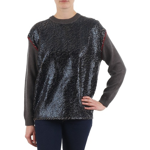 Clothing Women jumpers Eleven Paris TWIGGY WOMEN Grey