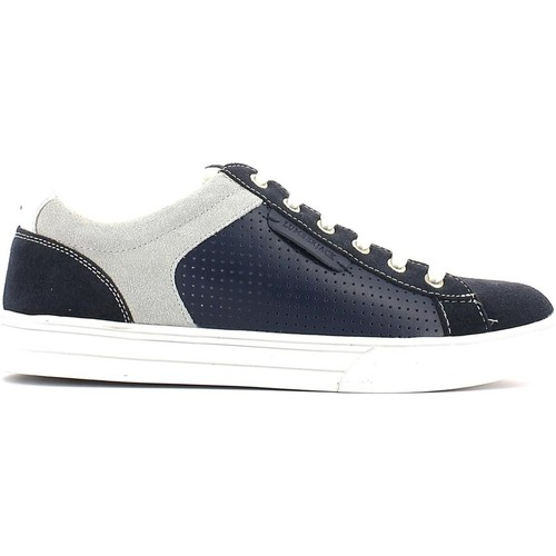 Shoes Men Walking shoes Lumberjack 1562 M01 Sneakers Man Navy blue/white Navy blue/white
