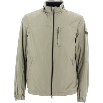 Clothing Men Jackets Geox M5221H T2063 Jacket Man Light stone Light stone