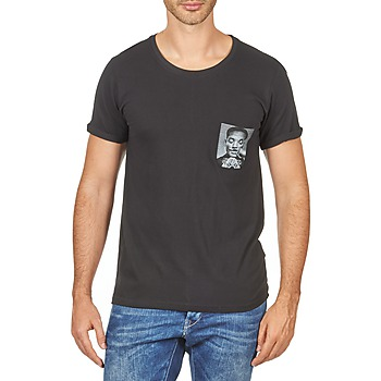 Clothing Men Short-sleeved t-shirts Eleven Paris WOLYPOCK MEN Black