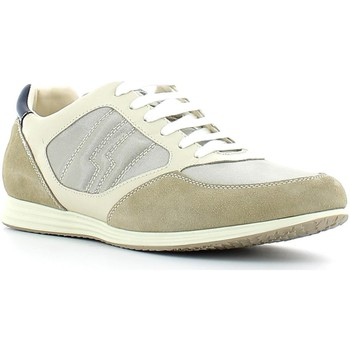 Shoes Men Low top trainers Lumberjack 1571 M50 Sneakers Man Sand off white/white