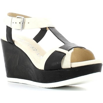 Shoes Women Sandals Luca Stefani 290535 Wedge sandals Women Latte/nero Latte/nero