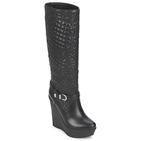 Shoes Women High boots Versace DSL909R Black
