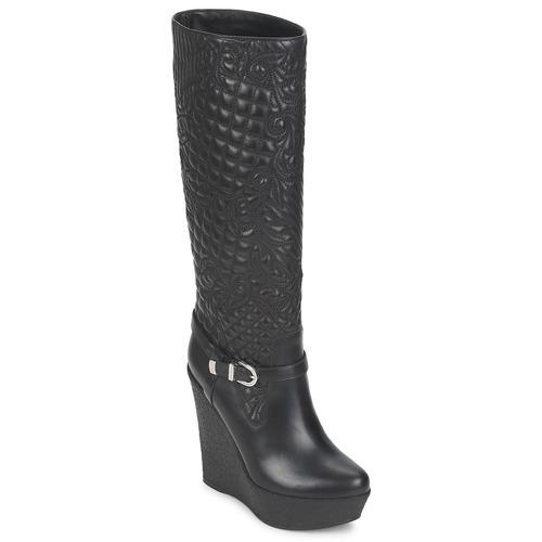 Shoes Women High boots Versace DSL909R Black