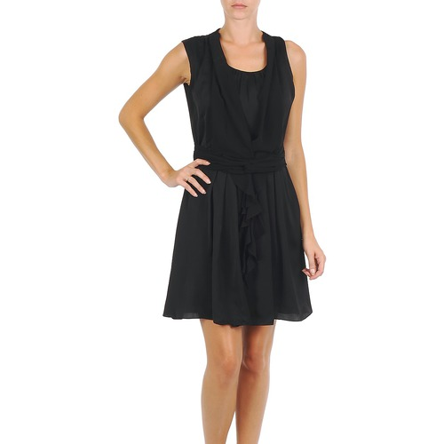 Clothing Women Short Dresses Fornarina CHRISSY Black