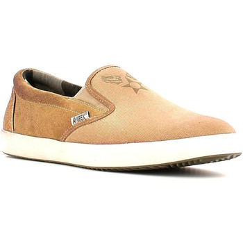 Shoes Men Slip ons Avirex 151.M.172 Slip-on Man Sand Sand