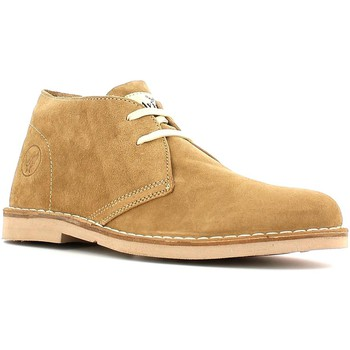 Shoes Men Mid boots Avirex 151.M.231 Ankle Man Sand Sand