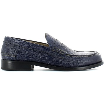 Shoes Men Loafers Marco Ferretti 18523 Mocassins Man Navy Navy