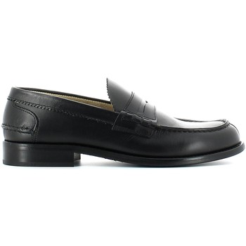 Shoes Men Loafers Marco Ferretti 18523 Mocassins Man Black Black