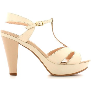 Shoes Women Sandals Grace Shoes CR52 High heeled sandals Women Beige Beige