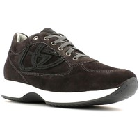 Shoes Men Low top trainers Byblos Blu 652053 Shoes with laces Man Anthracite Anthracite