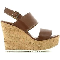 Shoes Women Sandals Grace Shoes 15010C Wedge sandals Women Brown Brown
