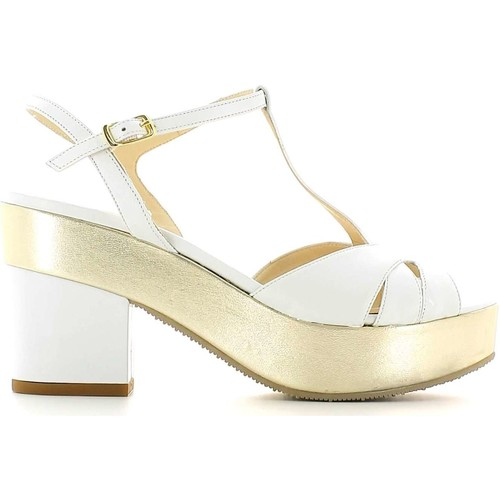 Shoes Women Sandals Grace Shoes CR75 High heeled sandals Women White White
