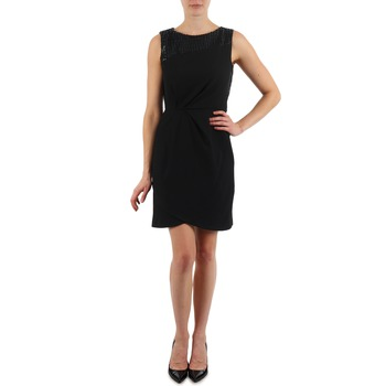 Clothing Women Short Dresses Manoukian YOKE Black