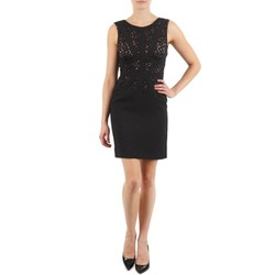 Clothing Women Short Dresses Manoukian EILEEN Black