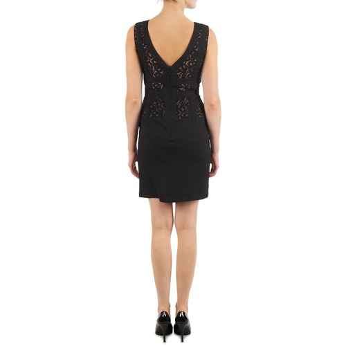 Manoukian Eileen Black - Free Delivery Clothing Short Dresses Women 7200 Sale