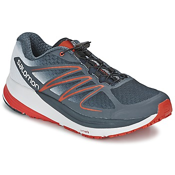 Shoes Men Running shoes Salomon SENSE PROPULSE Blue / Grey / Red