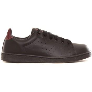 Shoes Women Low top trainers Cassis Côte d'Azur Baskets Marine noir et bordeaux Black