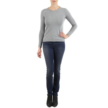 Clothing Women slim jeans Meltin'pot MARIAN Blue