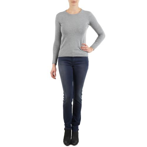 Clothing Women slim jeans Meltin'pot MARIAN Blue