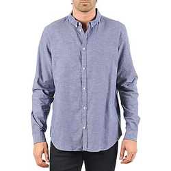 Clothing Men Long-sleeved shirts Cheap Monday DAMON BD SHIRT Blue