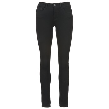 Clothing Women slim jeans Only SKINNY REG. SOFT ULTIMATE NOOS Black