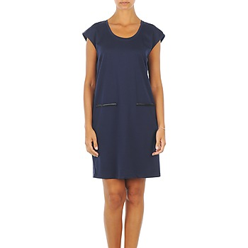 Clothing Women Short Dresses Vero Moda CELINA S/L SHORT DRESS MARINE