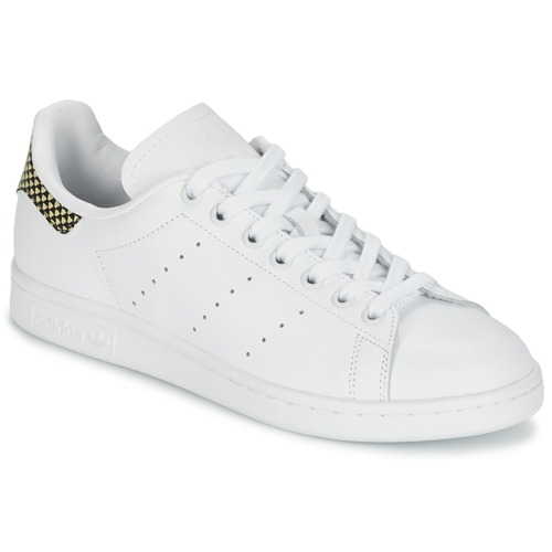 Shoes Women Low top trainers adidas Originals STAN SMITH White