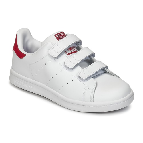 adidas Originals STAN SMITH CF C White - Free delivery with Spartoo ... 91b202afa37