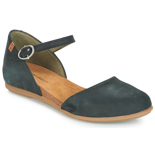 Shoes Women Flat shoes El Naturalista STELLA Black