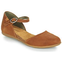 Shoes Women Flat shoes El Naturalista STELLA Brown