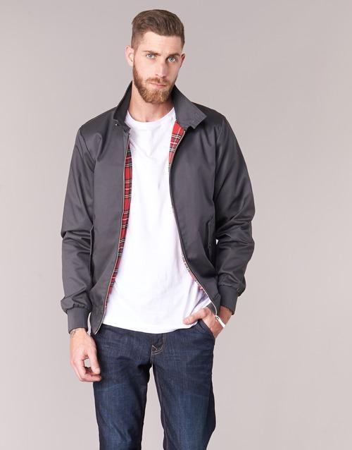 Clothing Men Jackets Harrington HARRINGTON PAULO Grey