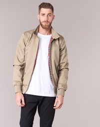 Clothing Men Jackets Harrington HARRINGTON PAUL Beige