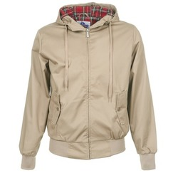 Clothing Men Jackets Harrington HARRINGTON HOODED Beige