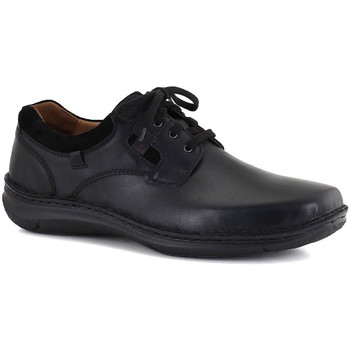 Shoes Men Derby Shoes Josef Seibel Anvers 36 Mens Lightweight Casual Shoes black