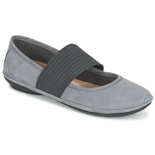 Shoes Women Flat shoes Camper RIGHT NINA Grey