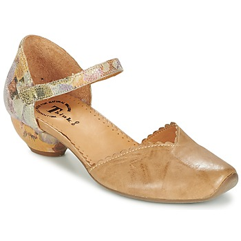 Shoes Women Sandals Think AIDA CAMEL