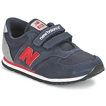 Shoes Children Low top trainers New Balance KE420 Marine / Red