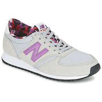 Shoes Women Low top trainers New Balance WL420 GREY / PURPLE