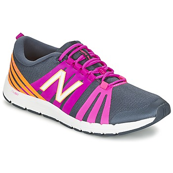 Shoes Women Fitness / Training New Balance WX811 Grey / Pink / Orange