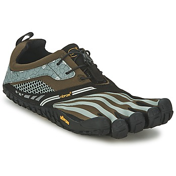 Shoes Men Running shoes Vibram Fivefingers SPYRIDON LS Green / Grey